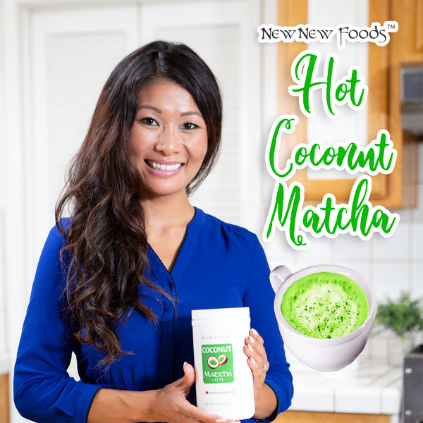 Hot Coconut Matcha Recipe