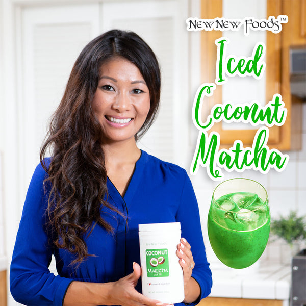 Iced Coconut Matcha Recipe