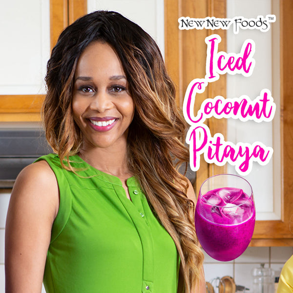 Iced Coconut Pitaya Recipe