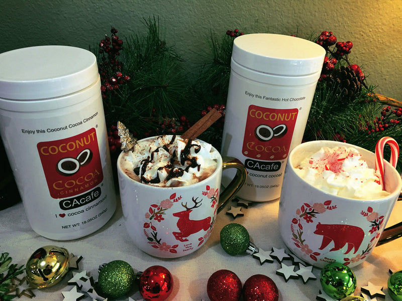 RECIPE: FESTIVE HOT COCONUT COCOA
