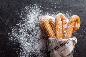 RECIPE: CHURRO WITH COCONUT COFFEE CHOCOLATE SAUCE