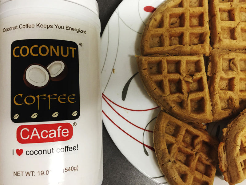 RECIPE: COCONUT COFFEE WAFFLES!
