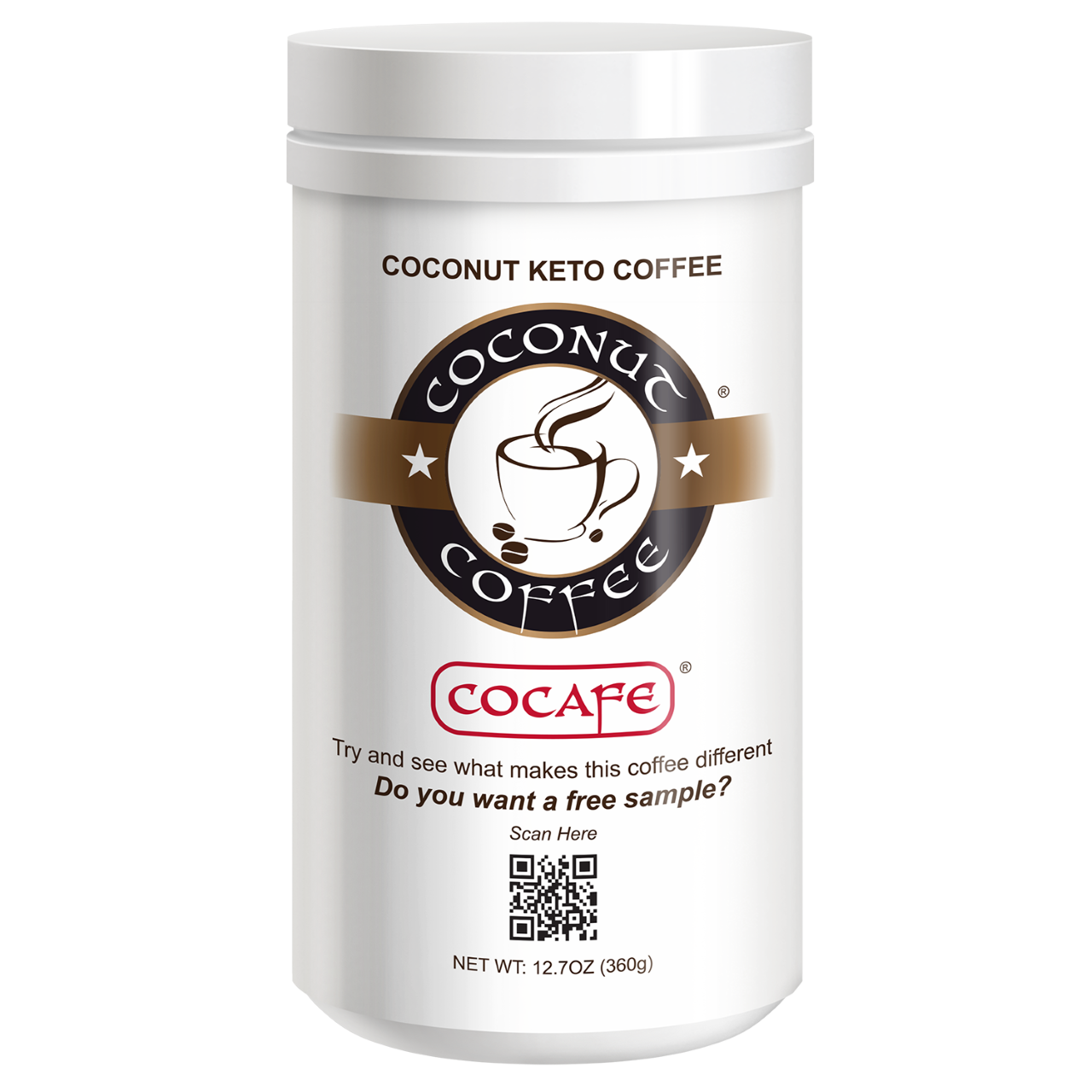 Coconut Keto Coffee 12.7oz
