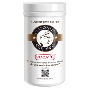 Coconut Keto Coffee 12.7oz (6-Pack)