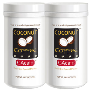 Coconut Coffee, this is a Coffee you can't miss - 2 Pack