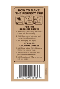 Coconut Coffee Unsweetened 12.7oz