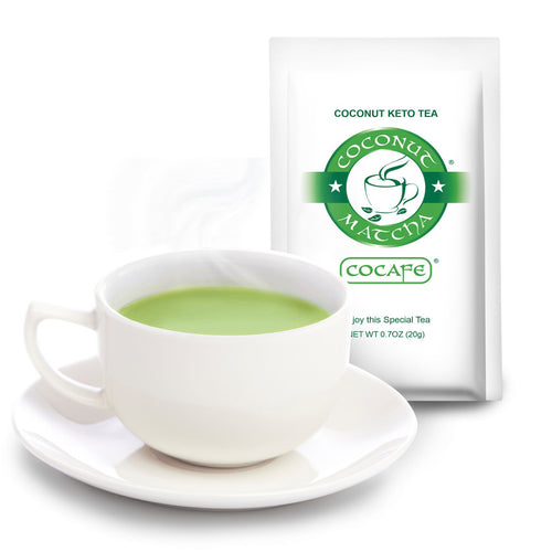 Sample Coconut Keto Matcha Tea 0.7oz