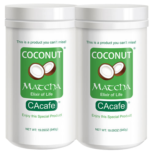 Coconut Matcha, this is a product you can't miss - 2 Pack