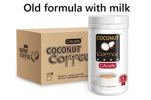 Coconut Coffee 19.05oz 6-Pack (old formula with milk)