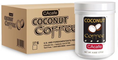 Coconut Coffee 9.5oz (6-Pack)