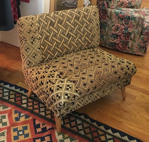 KUBA CLOTH UPHOLSTERY PROJECT