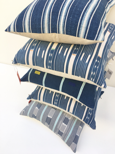 PILLOWS CRAFTED FROM GLOBAL TEXTILES