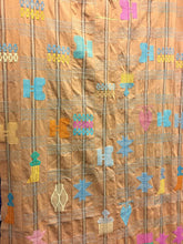 African Tribal Textile, Cotton Textile with Tribal Design, Wall Hanging, Boho Upholstery Fabric
