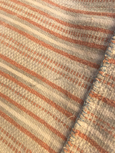 Asian Textile, Soft Rust, Ivory, and Gray, Asian Hill Tribe Design