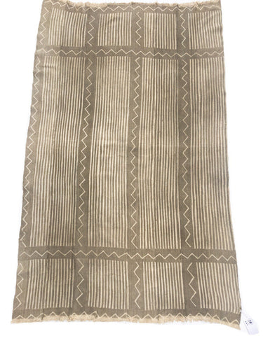 Tribal Mud Cloth, Vintage Bogolanfini, African textile, Vintage Boho Throw, Global style decor