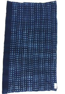 Indigo Mud Cloth/Vintage, Vintage, African, Indigo, Mud, Cloth, Fabric, Throw, Textile, Home Décor, Pillow, Upholstery, Antique, Rustic Home Décor