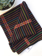 SALE! Guatemalan Embroidered Fabric, Vintage Hand Loomed Guatemalan Textile