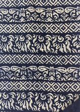 Vintage Block Print, Chinese Hemp/Linen Fabric