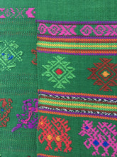 Mexican table top runner. Boho textile
