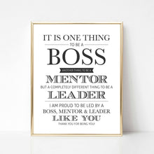Boss Mentor Leader - DIGITAL PRINT