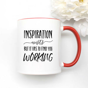 Inspiration Exists Coffee Mug