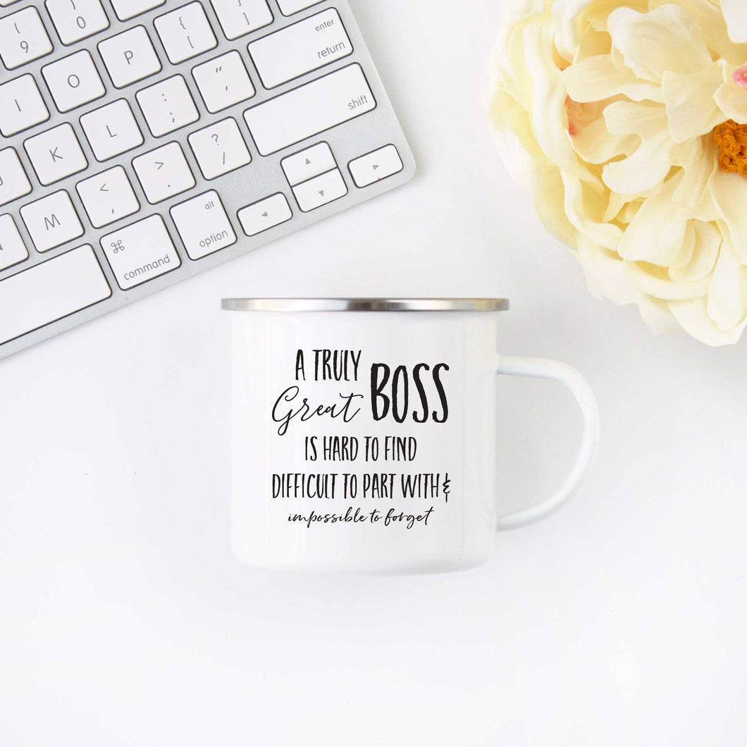 Truly Great Boss Coffee Mug