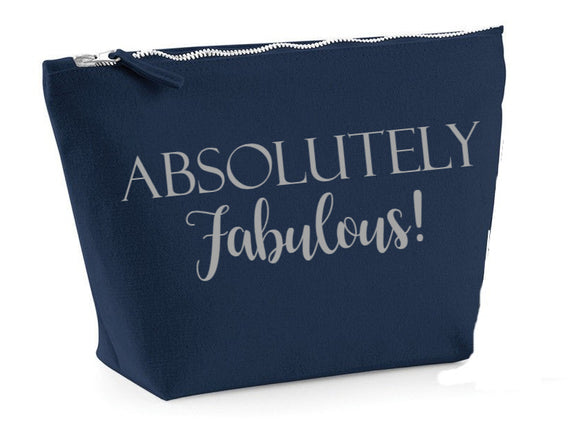Absolutely Fab. Make up bag