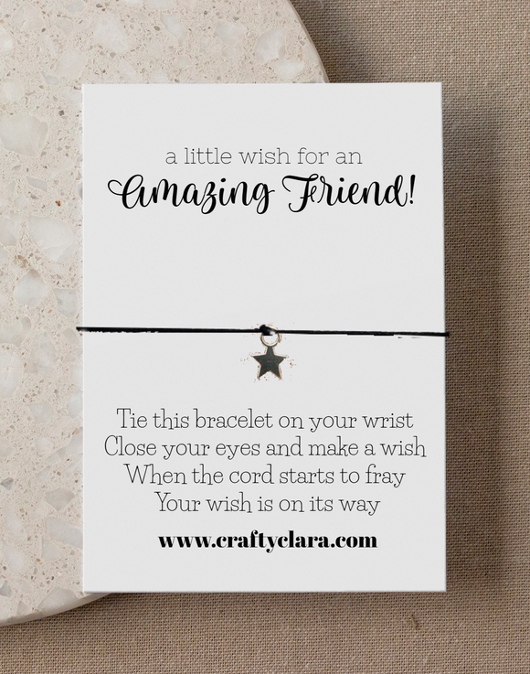 Amazing Friend Star Bracelet