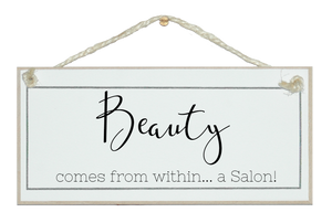 Beauty...within the salon