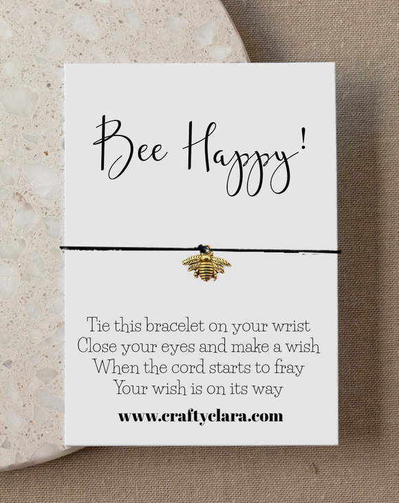 Bee Happy Bracelet