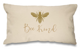 Gold Bee Range. Natural Long Cushion