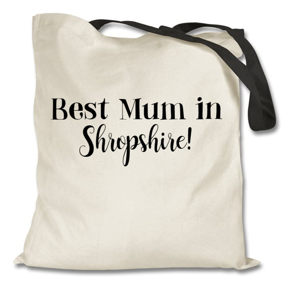 Best Mum in...tote bag