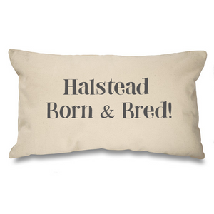 ...Born and Bred Bespoke Natural Long Cushion