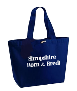 Bespoke area Born and Bred canvas marina bags