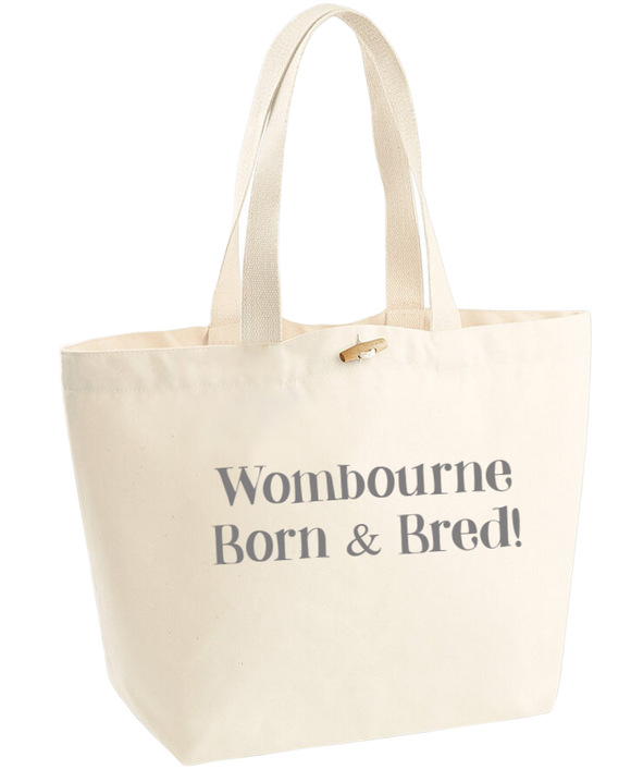 Born and Bred...Natural Marina Bag