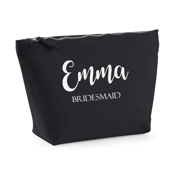 Personalised Bridesmaid Make Up Bag