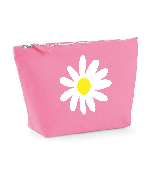 Daisy design. Make up bag