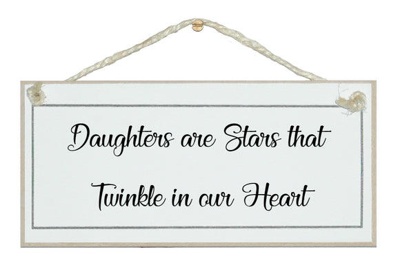 Daughters are stars...
