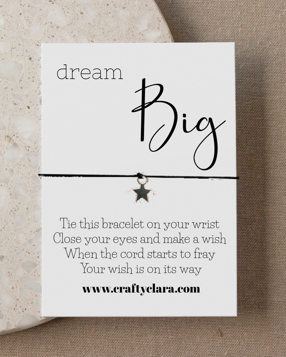 Dream Big Star Bracelet