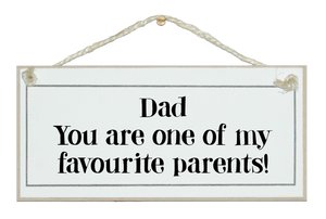 Dad...favourite parents