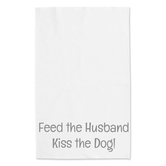 Feed the husband... tea towel