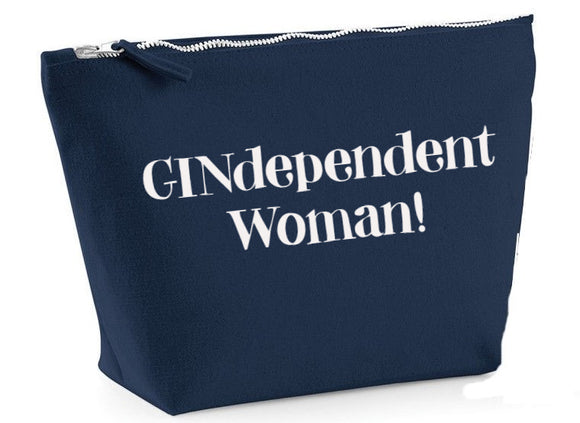 GINdependent woman...make up bag