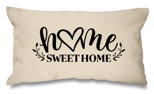 Home sweet home. Natural Long Cushion