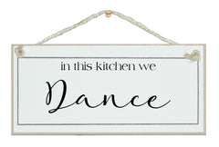 In this kitchen we dance