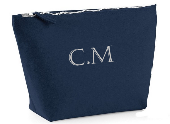 Personalised Initial Make Up Bag