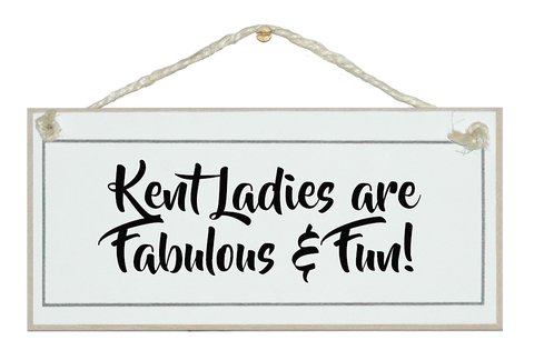 ....Ladies are fab & fun!