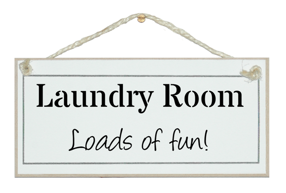 Laundry - loads of fun!