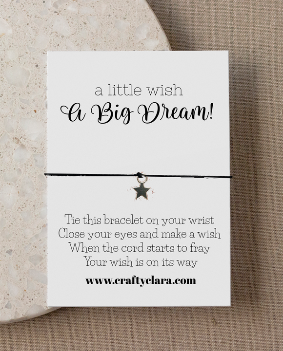 Little Wish, Big Dream Star Bracelet