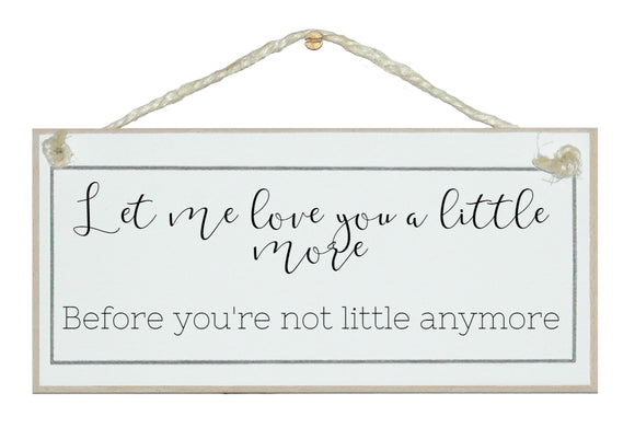 Love you a little more...