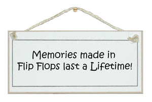 Memories made in flip flops
